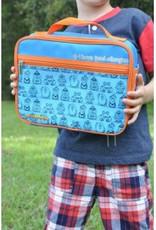 Allergy lunch bag Blue