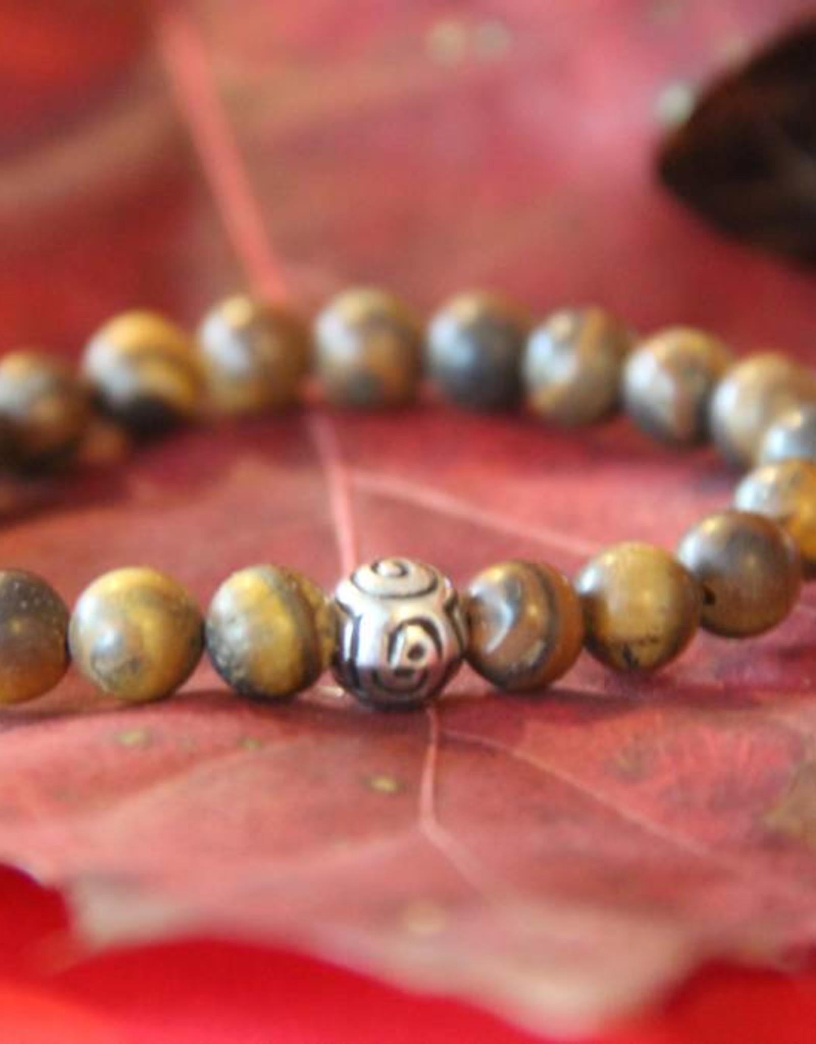 Eigen atelier Brown bracelet with wooden beads