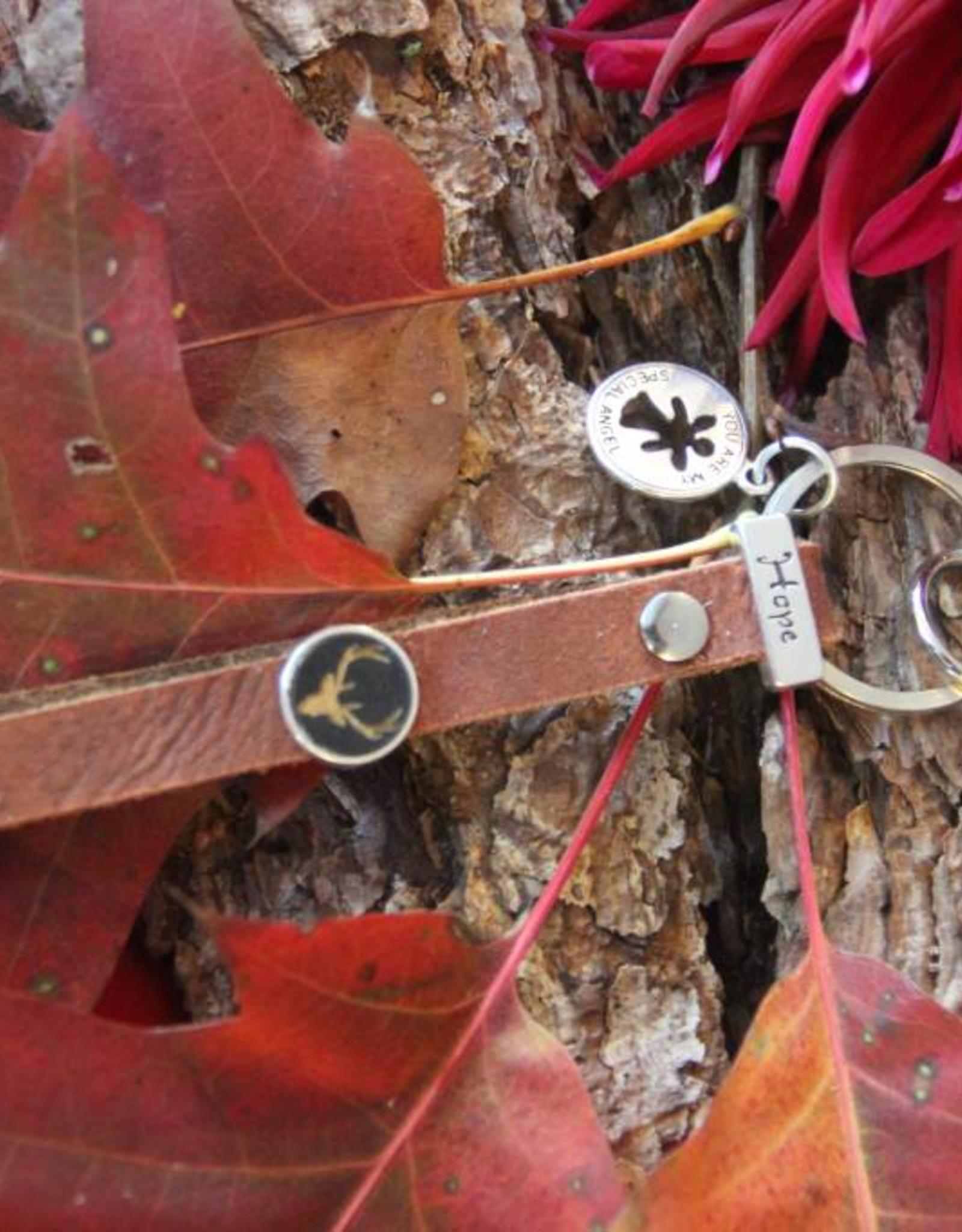 Eigen atelier Un porte-clés magnifique et unique Hope