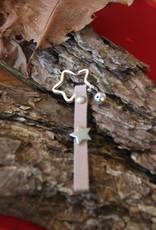 Eigen atelier Porte-clés en cuir Christ