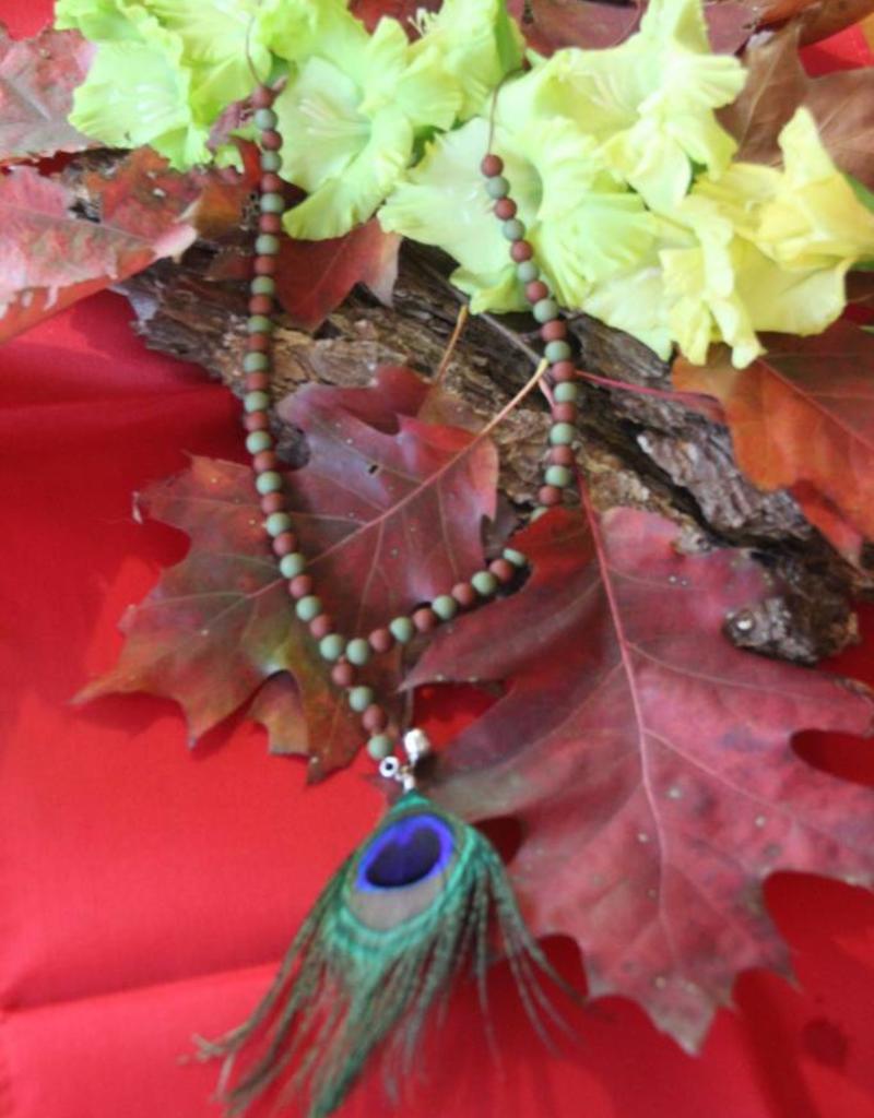 Eigen atelier Necklace Dream with peacock eye