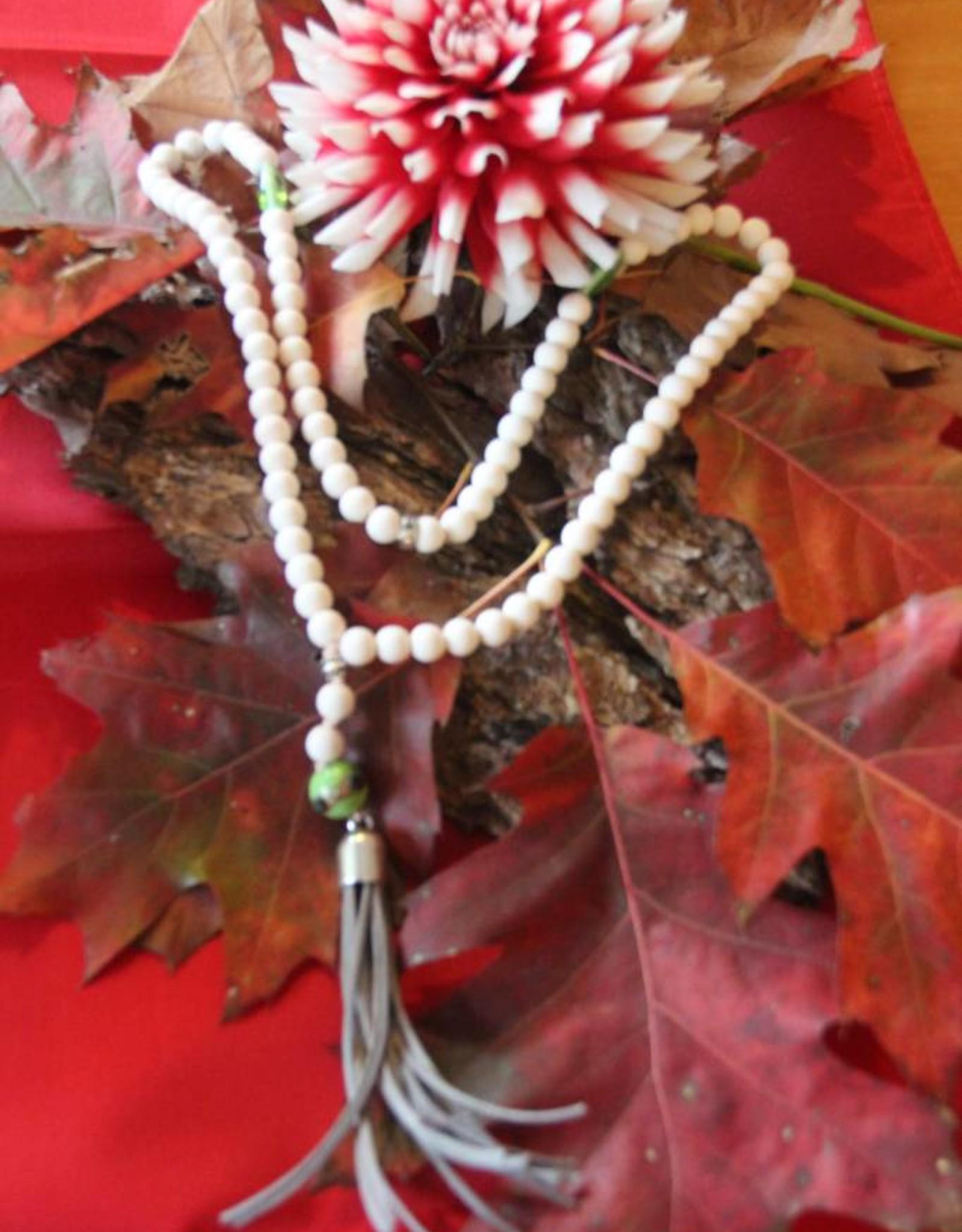 Eigen atelier Necklace Yoga White