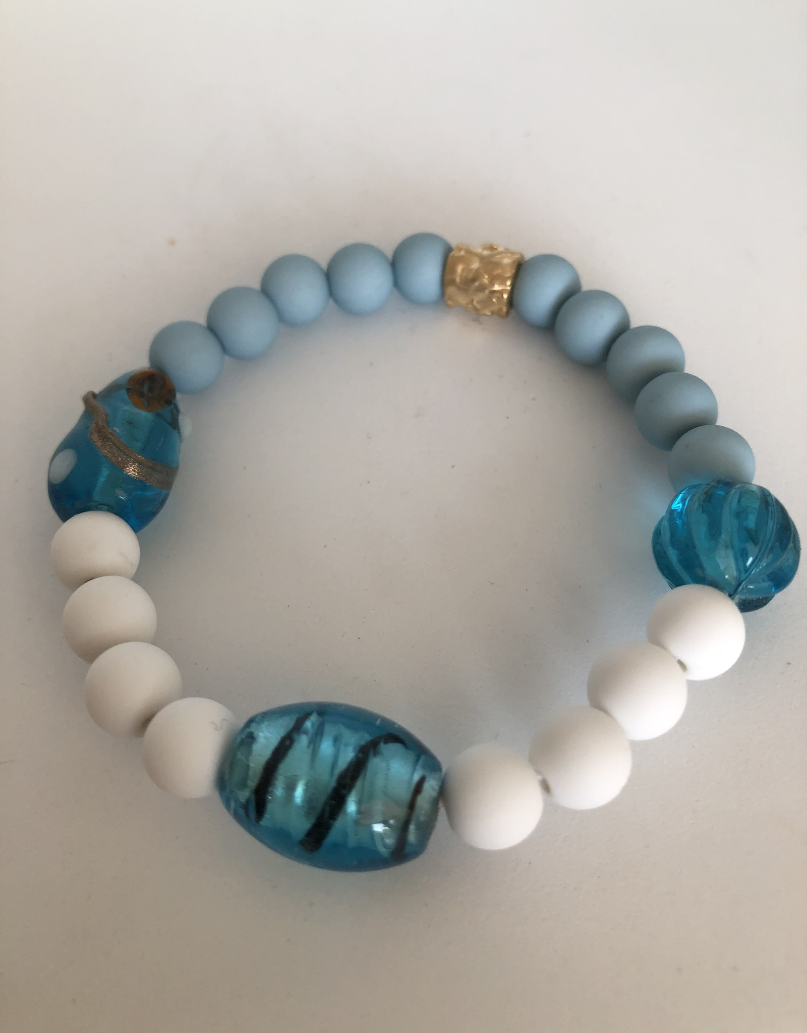 Eigen atelier Armband Summer Blue