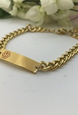 Eigen atelier  Armband Klassiek Gold - Silver