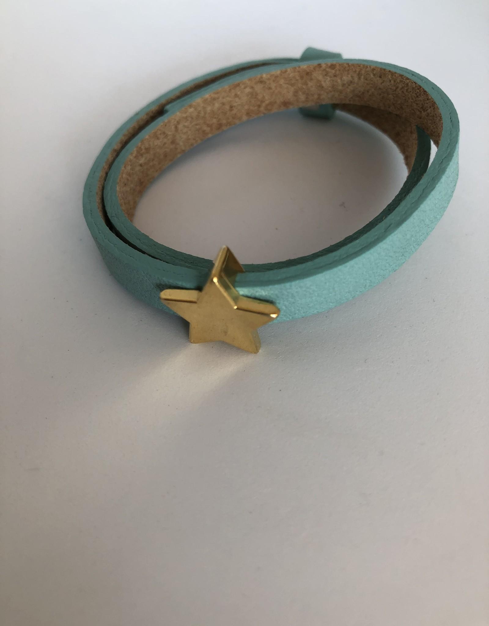 Eigen atelier Wrap Green Star