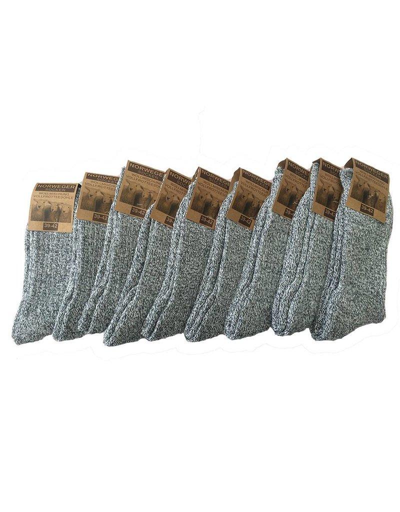 Naft 6 paar Noorse sokken van Naft