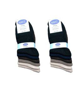 Naft 100% katoenen sokken 5paar