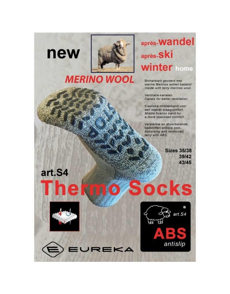Merino Merino anti-slip sok (S4)