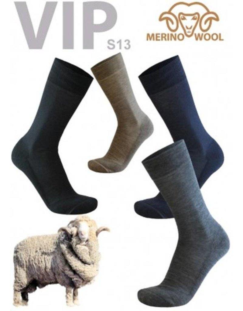 Merino Nette herensokken van Merino wol(S13)
