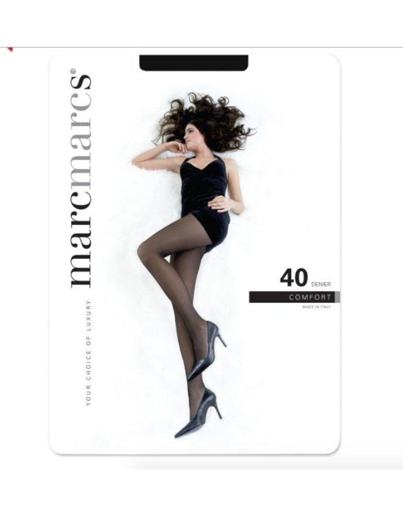 Marcsmarcs Semi opaque micro comfort panty 40den