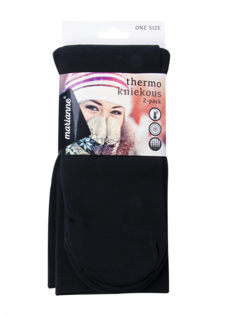 Marianne Thermo kniekous 2-pack