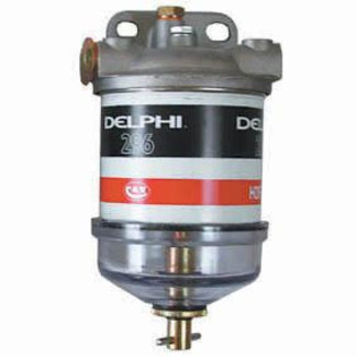 Delphi Delphi Diesel Filter With Plastic Bowl & Plug