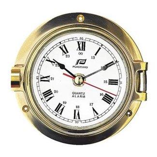 """Plastimo Plastimo 3"""" Clock Brass"""