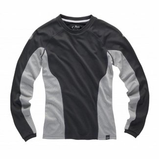 Gill Gill i2 Baselayer Womens Long Sleeve T-Shirt Ash/Silver