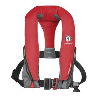Crewsaver Crewsaver Crewfit 165N Sport Life Jacket Manual with Harness Red