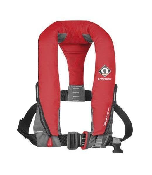 Crewsaver Crewsaver Crewfit 165N Sport Life Jacket Manual with Harness Red