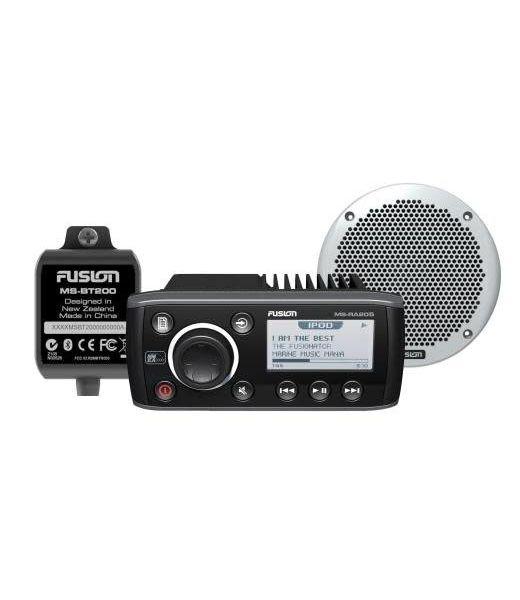 Fusion Fusion RA205 Bundle with BT200 Bluetooth & EL602 Speakers