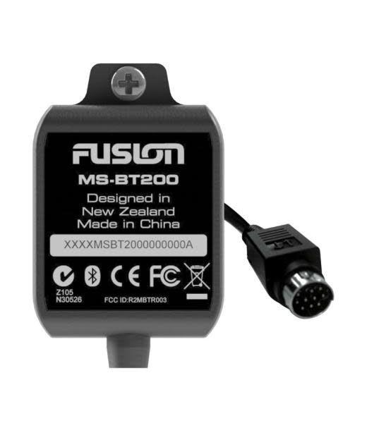Fusion Fusion BT200 Bluetooth Receiver - Serius input (control - phone / RA205 / 700 series)