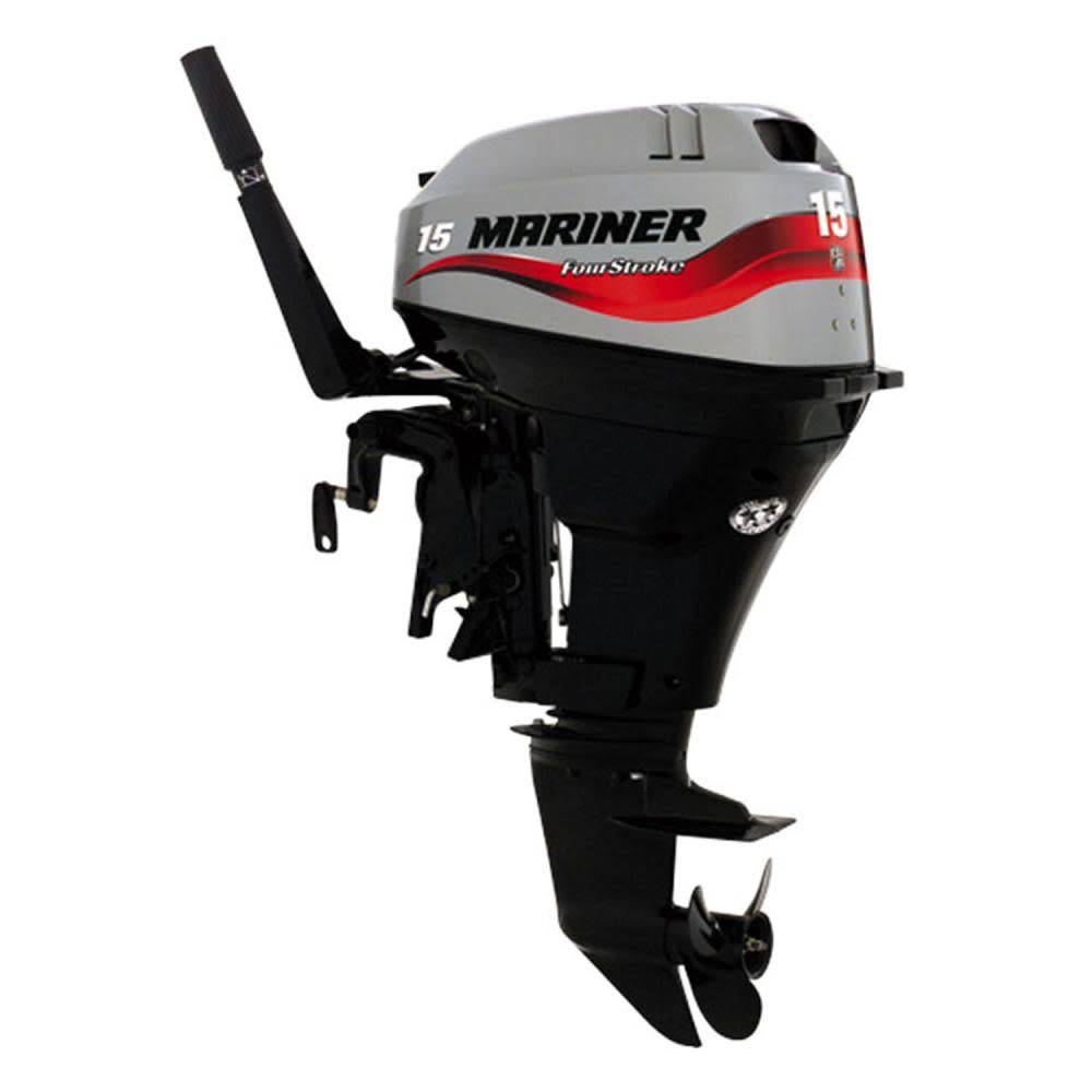 Mariner 4-Stroke 15hp Long Shaft Electric Start Outboard F15 EL - Pirates  Cave Chandlery