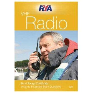 RYA G26 RYA VHF Radio - Short Range Certificate