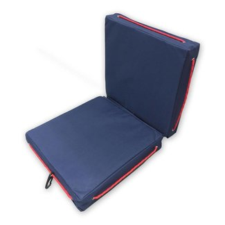 Pirates Cave Value Waterproof Buoyant Deck Cushions Seat Blue Double
