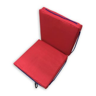 Pirates Cave Value Waterproof Buoyant Deck Cushions Seat Red Double