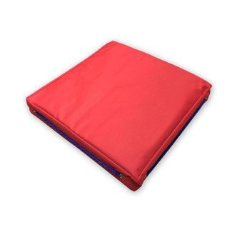 Pirates Cave Value Waterproof Buoyant Deck Cushions Seat Red Single