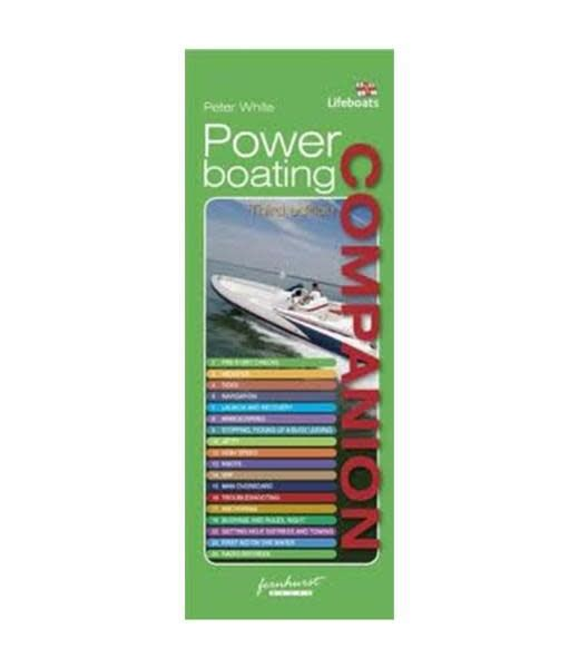 Flip Cards Companion Guides - Powerboating Companion