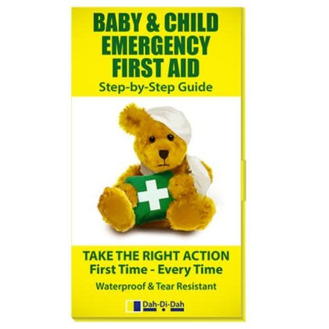 Baby & Child Emergency First Aid Book
