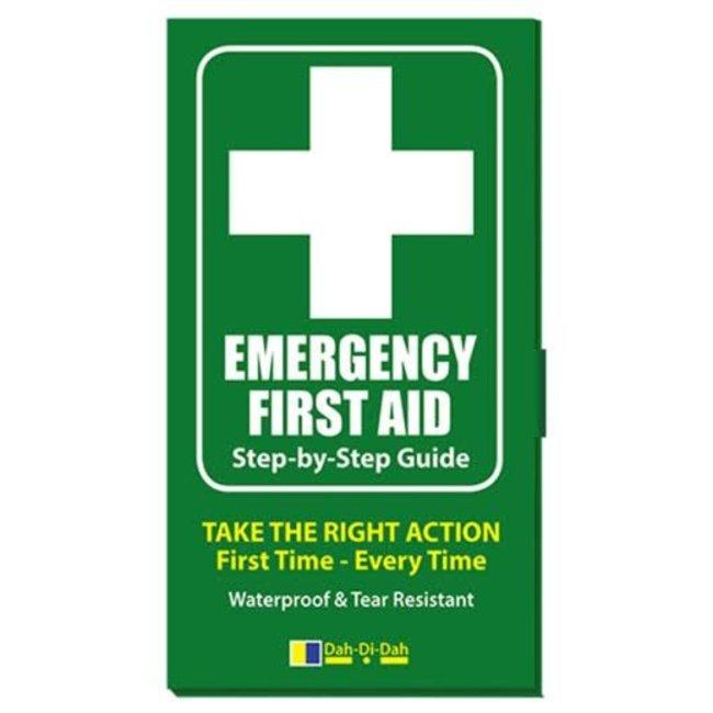 Emergency First Aid Book