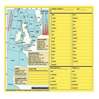 Anchor Light Cockpit Card - Shipping Forecast