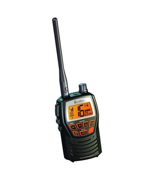 Cobra Cobra MR-HH125 Marine Handheld VHF Radio