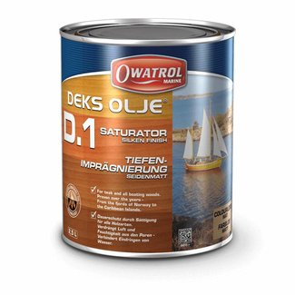 Owatrol Deks Olje D1 Saturating Oil 1L