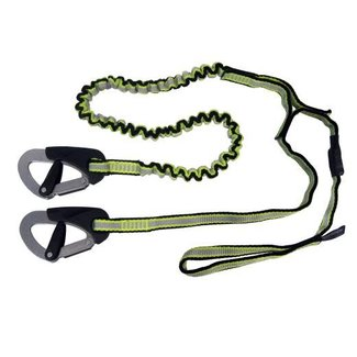 Spinlock Spinlock Race 2 Clips and 1 Link  Safety Line (Cow Hitch Version)