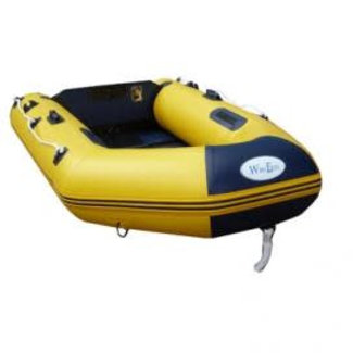 WavEco WavEco Slatted Floor Ultra Solid Transom Dinghy 2.5m Yellow