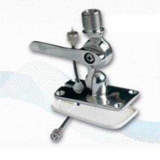 Glomex Glomex 4 Way Stainless Steel Ratchet Mount RA166/00