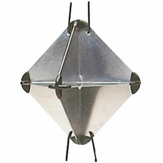 Pirates Cave Value Foldable Lightweight Radar Reflector RORC/IOR Approved