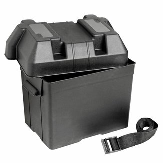 Pirates Cave Value Battery Box Small with Fastening Strap and Buckle