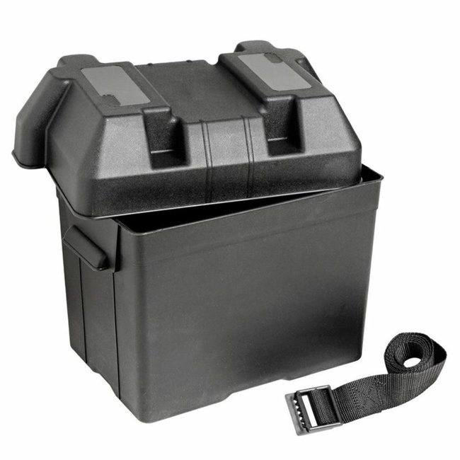 Battery Box (Max 95A) with Fastening Strap & Buckle