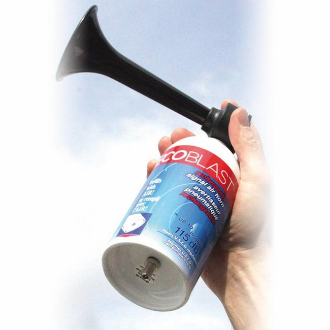 Ecoblast Metal Air Horn and Pump