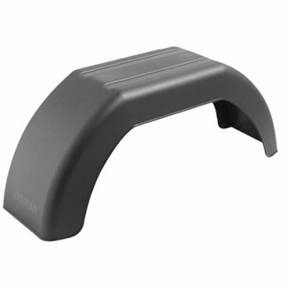 "Pirates Cave Value Plastic Mudguard 610mm Length for 10"" Wheels"