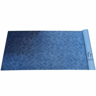 Pirates Cave Value All Purpose Mat Aqua Pattern 65cm x 2m