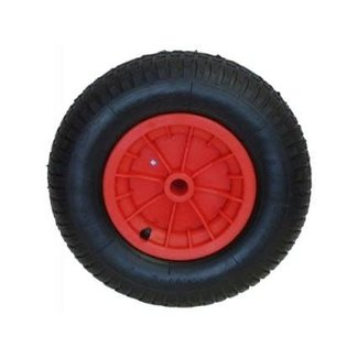 Pirates Cave Value Pneumatic Launch Trolley Wheel Tyre 15.5""