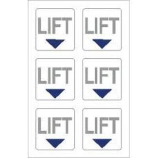 Nauticalia Nauticalia Lift Label (Small) Sticker