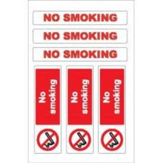 Nauticalia Nauticalia No Smoking Label (Large) Sticker