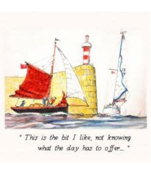 Peyton Greetings Card - This Is The Bit