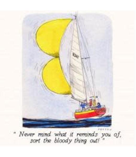 Peyton Greetings Card - Never Mind...