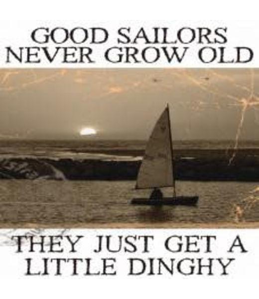 Nauticalia Salty Saying Card - Good Sailors...