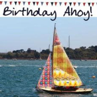 Nauticalia Dressed All Over Card - Birthday Ahoy!
