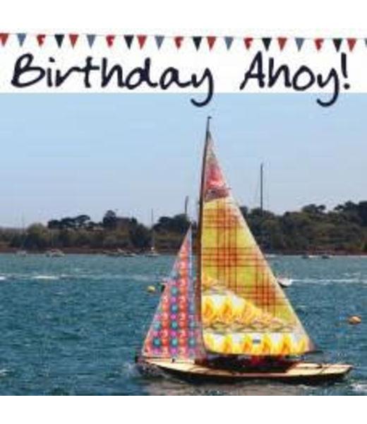 Nauticalia Dressed All Over Card - Birthday Ahoy!